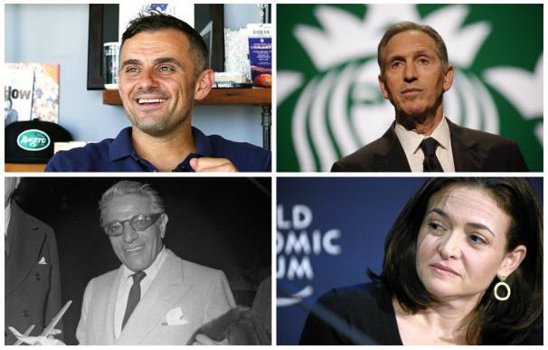 Algunos de los empresarios citados en el libro.