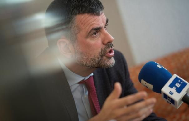 El exconseller de Empresa y Conocimiento Santi Vila durante una entrevista con Efe/Marta Pérez