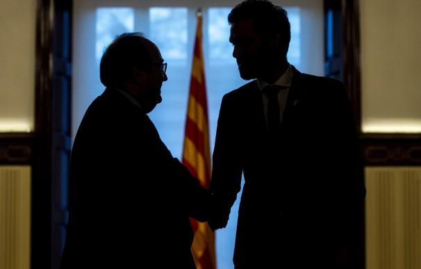 Iceta no ve claro el futuro en Cataluña