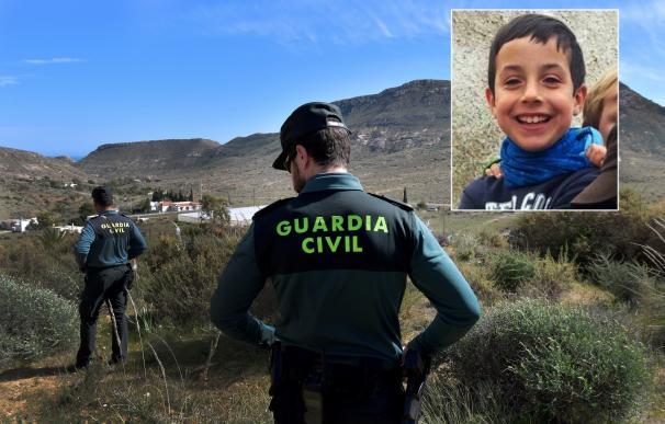 Fotografía niño desaparecido Níjar para portada