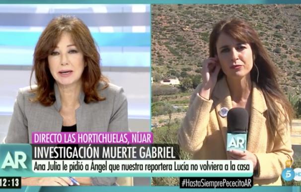 Caso Gabriel, programa de Ana Rosa