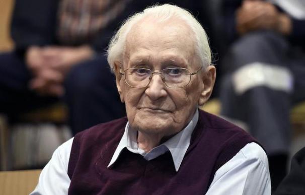 El 'contable de Auschwitz'
