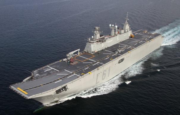 El BPE Juan Carlos I de la Armada.