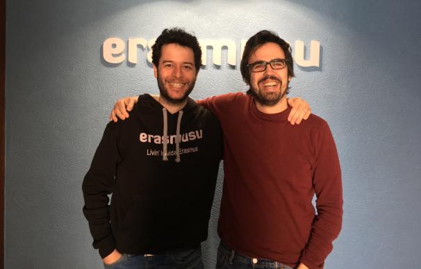 Los dos cofundadores de Erasmusu.