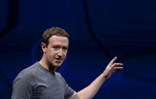 Fotografía de Mark Zuckerberg, fundador de Facebook