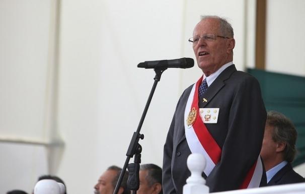 El presidente de Perú, Pedro Pablo Kuczynski