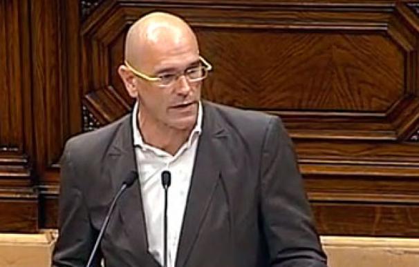 Raül Romeva, cabeza de lista de JxS
