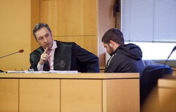 Sergio D.G ante el tribunal que lo juzgó