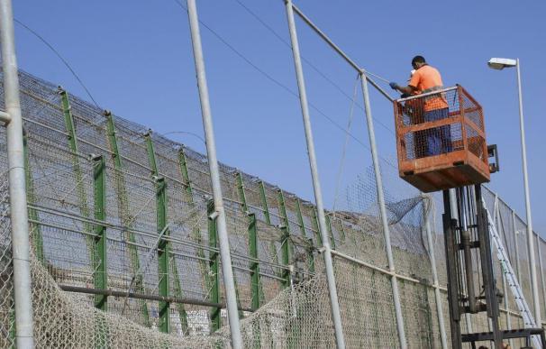 La presión sobre la valla fronteriza de Melilla y Ceuta se ha incrementado en las últimas semanas.