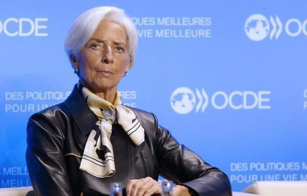 La directora general del Fondo Monetario Internacional (FMI), Christine Lagarde. EFE