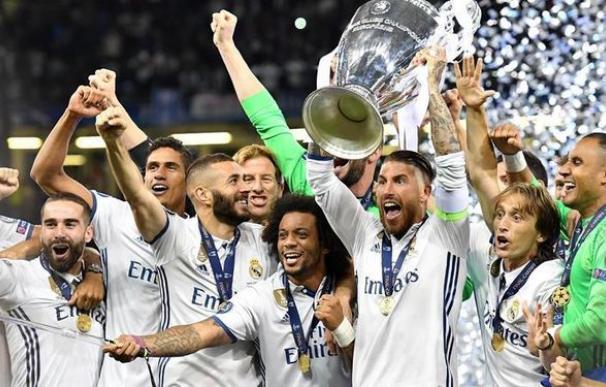 El Real Madrid, último ganador de la Champions.