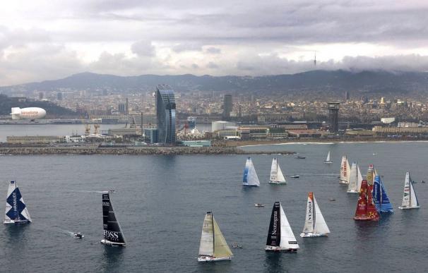 Imagen de la competición Barcelona World Race.