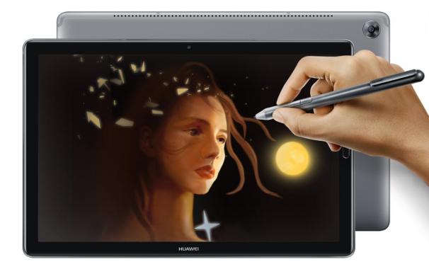 Lápiz táctil de las nuevas tablets de Huawei