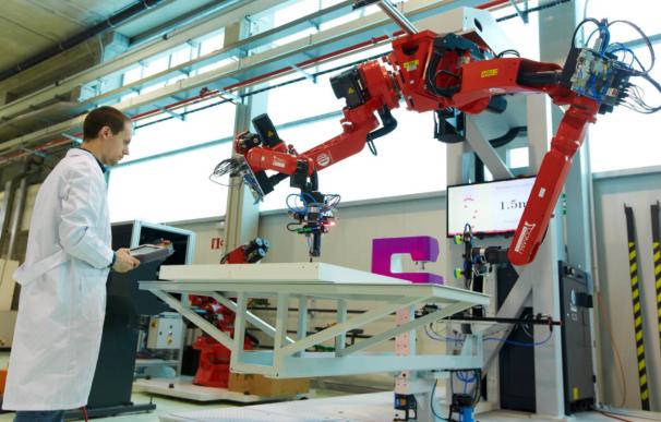 Los cobot trabajan mano a mano con humanos