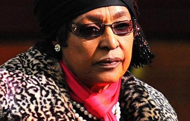Fotografía de Winnie Mandela