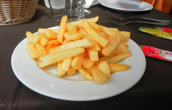 Patatas fritas restaurante