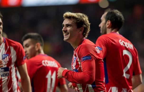 Fotografía de Griezmann celebrando su gol