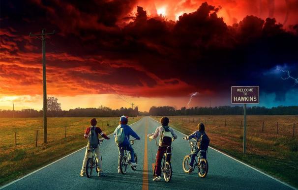 Fotografía de Stranger Things, Netflix