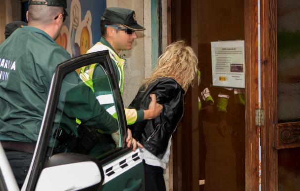 La conductora responsable del atropello múltiple a un grupo de ciclistas el pasado jueves 5 de abril en la carretera que une Artà y Capdepera (EFE/Lliteres)