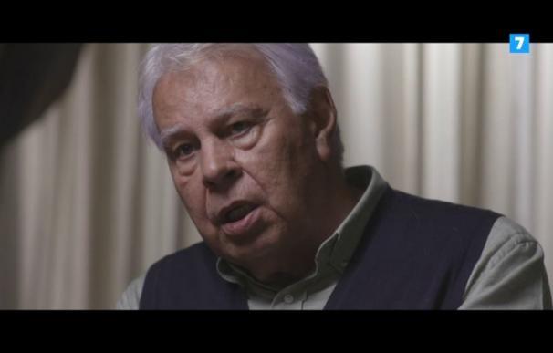 Felipe González en 'Salvados'