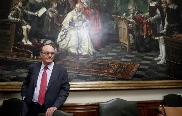 El gobernador del Banco de España, Luis María Linde. (EFE)