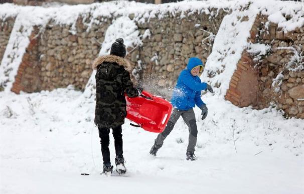 Las impresionantes imágenes de las nevadas que ha sufrido España el 28 de febrero de 2018