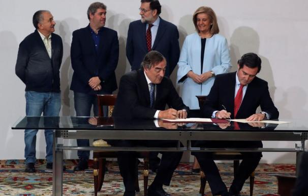 Firma acuerdo social del Salario Mínimo