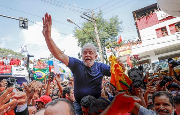 Lula da Silva pone fin a su resistencia y entra en prisión por corrupción