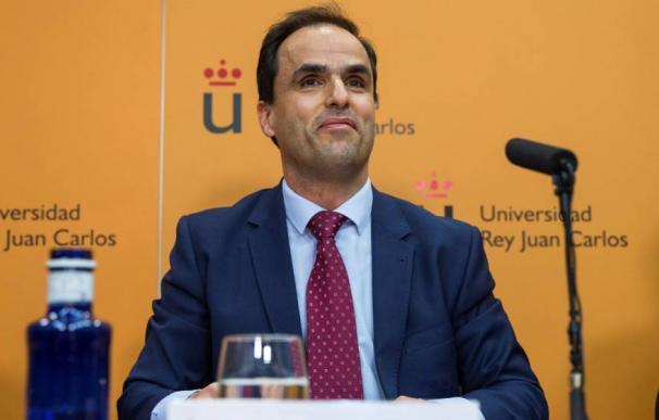 Fotografía rector Universidad Rey Juan Carlos