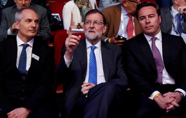 Mariano Rajoy y Dimas Gimeno