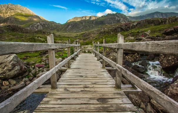 Montañas Snowdonia