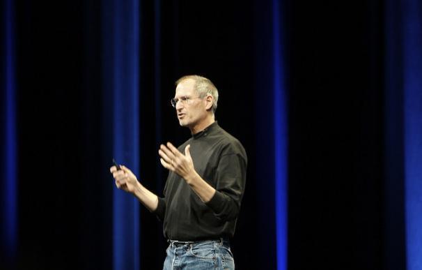 Steve Jobs en una de las presentaciones de su última época en Apple / Ben Stanfield