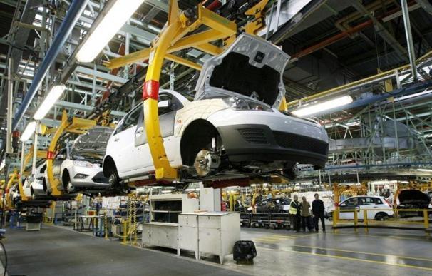 Cadena de montaje de la factoría de Ford en Almussafes (Valencia) / EFE