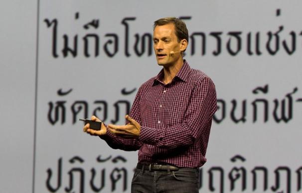 Jeff Dean, durante una charla en 2015 / NVIDIA Corporation