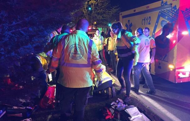 Los servicios de emergencias confirmaron el fallecimiento