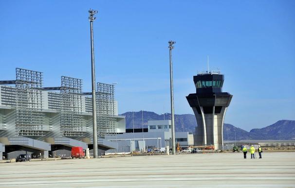 Fotografía aeropuerto Murcia, Corvera