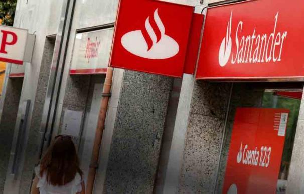 Fotografía Banco Santander, cajero