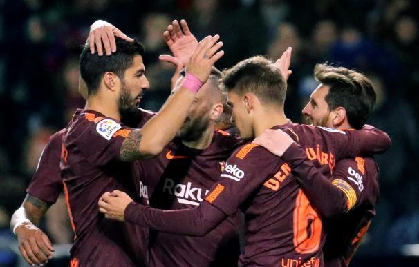 El Barcelona logra la Liga invicto