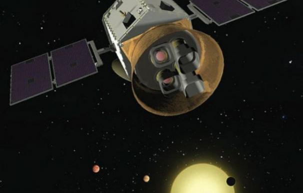 Recreación de Tess / NASA