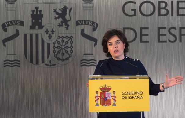 Fotografía Soraya Sáenz de Santamaría