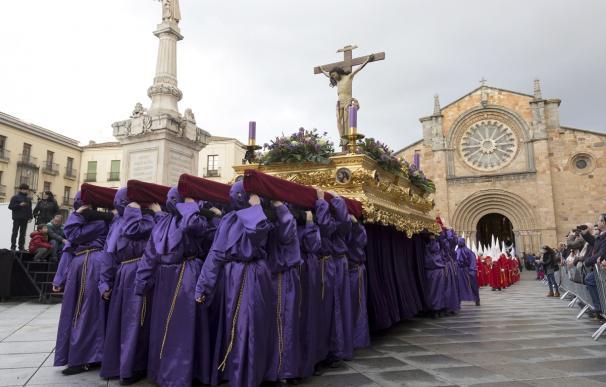 Procesión del Jueves Santo 2017 en Ávila.