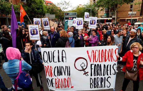 Protestas contra la excarcelación del violador de Verneda.