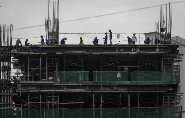 Edificio en construcción - FOTO: EFE
