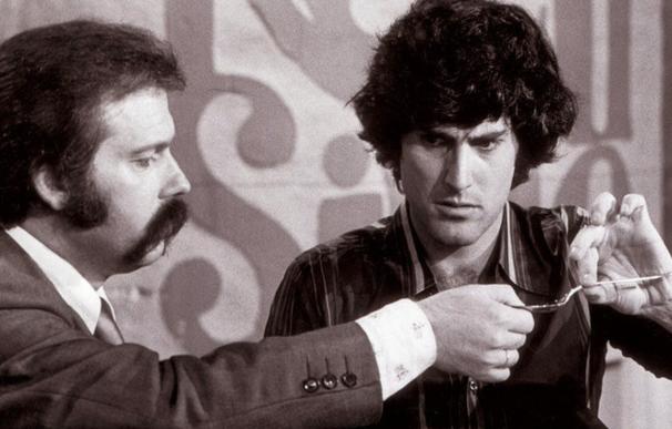 José María Iñigo con Uri Geller.