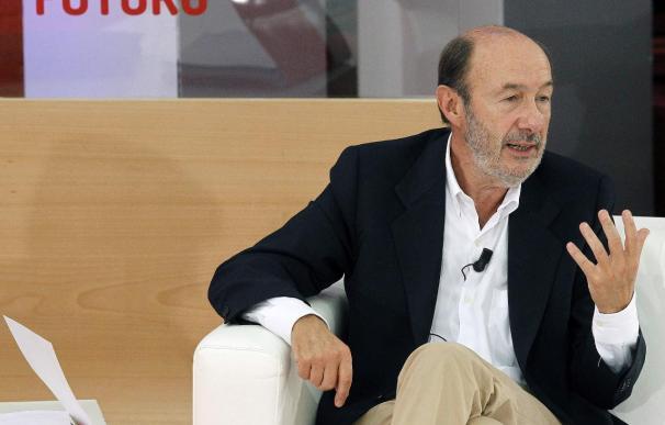 """Rubalcaba cree que el modelo """"injusto e insostenible"""" de Wert creará marginados"""