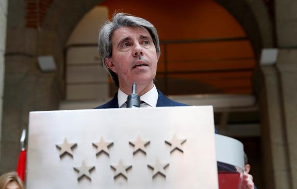 El presidente en funciones de la región, Ángel Garrido.