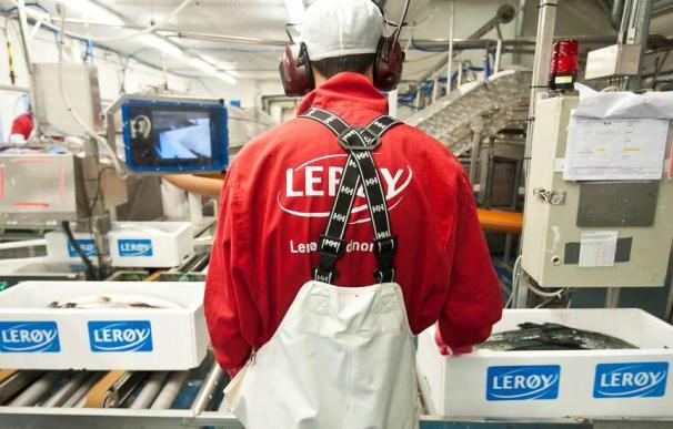 Factoría de Lerøy Seafood Group AS en Noruega