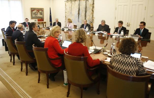 Reunión del Consejo de Ministros, con el nuevo ministro de Economía, Román Escolano.