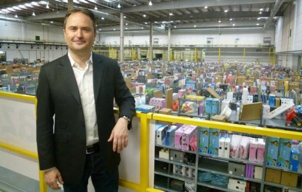 El director general de Amazon, François Nuyts.