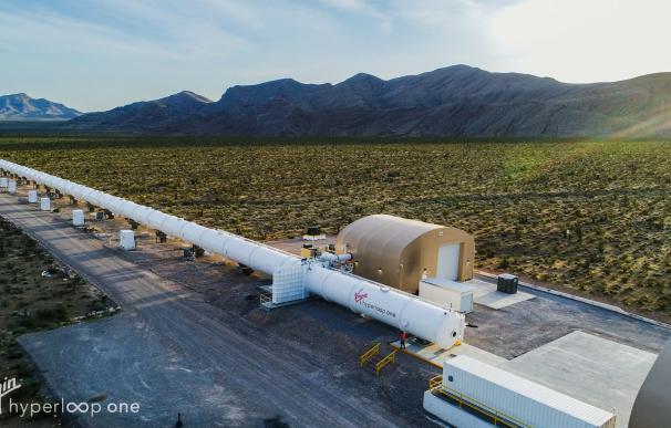 Instalación de Hyperloop One en Estados Unidos.